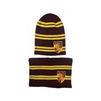 Set Gorro + Braga cuello Gryffindor - Harry Potter
