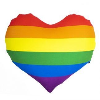 Cojín LGTBI corazón
