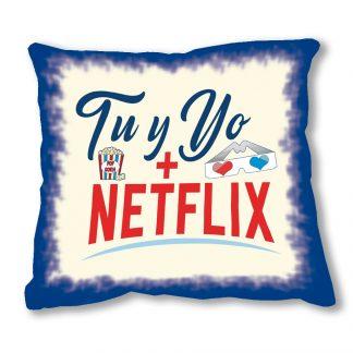 cojín tú y yo más Netflix 1