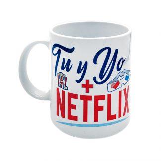 taza tú y yo más Netflix