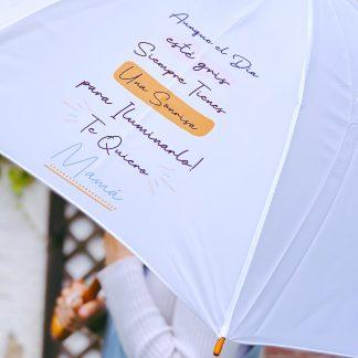 paraguas día de la madre Aunque el día esté gris