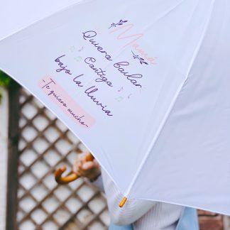 paraguas día de la madre quiero bailar contigo