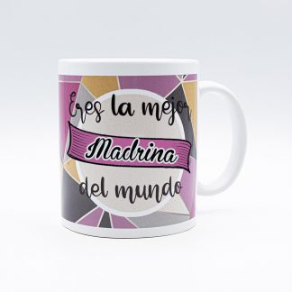 taza madrina la mejor del mundo