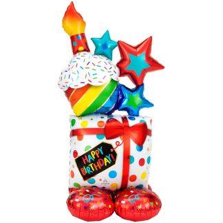 anagram icono cumpleaños globos