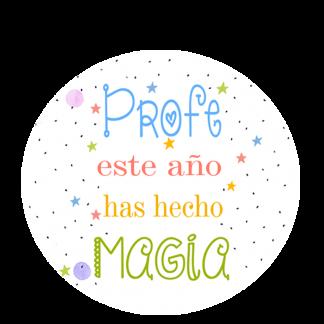 Profe este año has hecho magia.